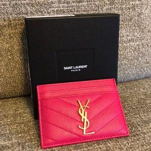 💖Saint Laurent Monogram Credit Card Case💖